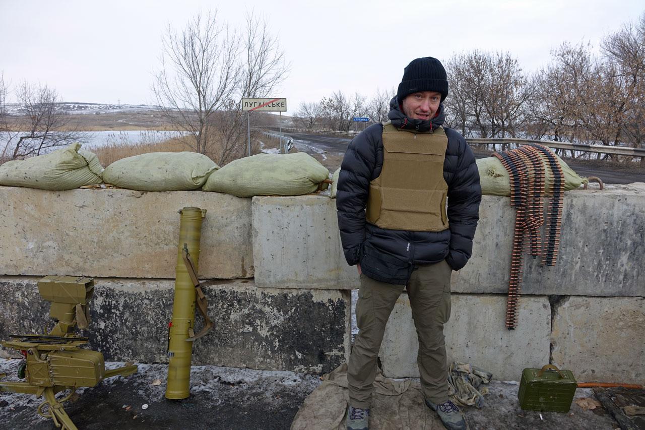 Wschodnia Ukraina, zima 2015/fot. Rafał Stańczyk
