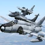 Su-22, MiG 29 i F-16/fot. Bartek Bera