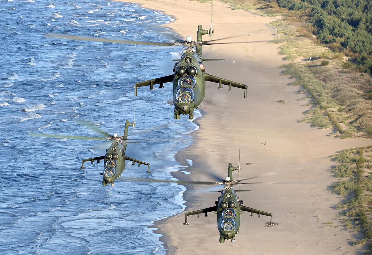 Mi-24/fot. Bartek Bera