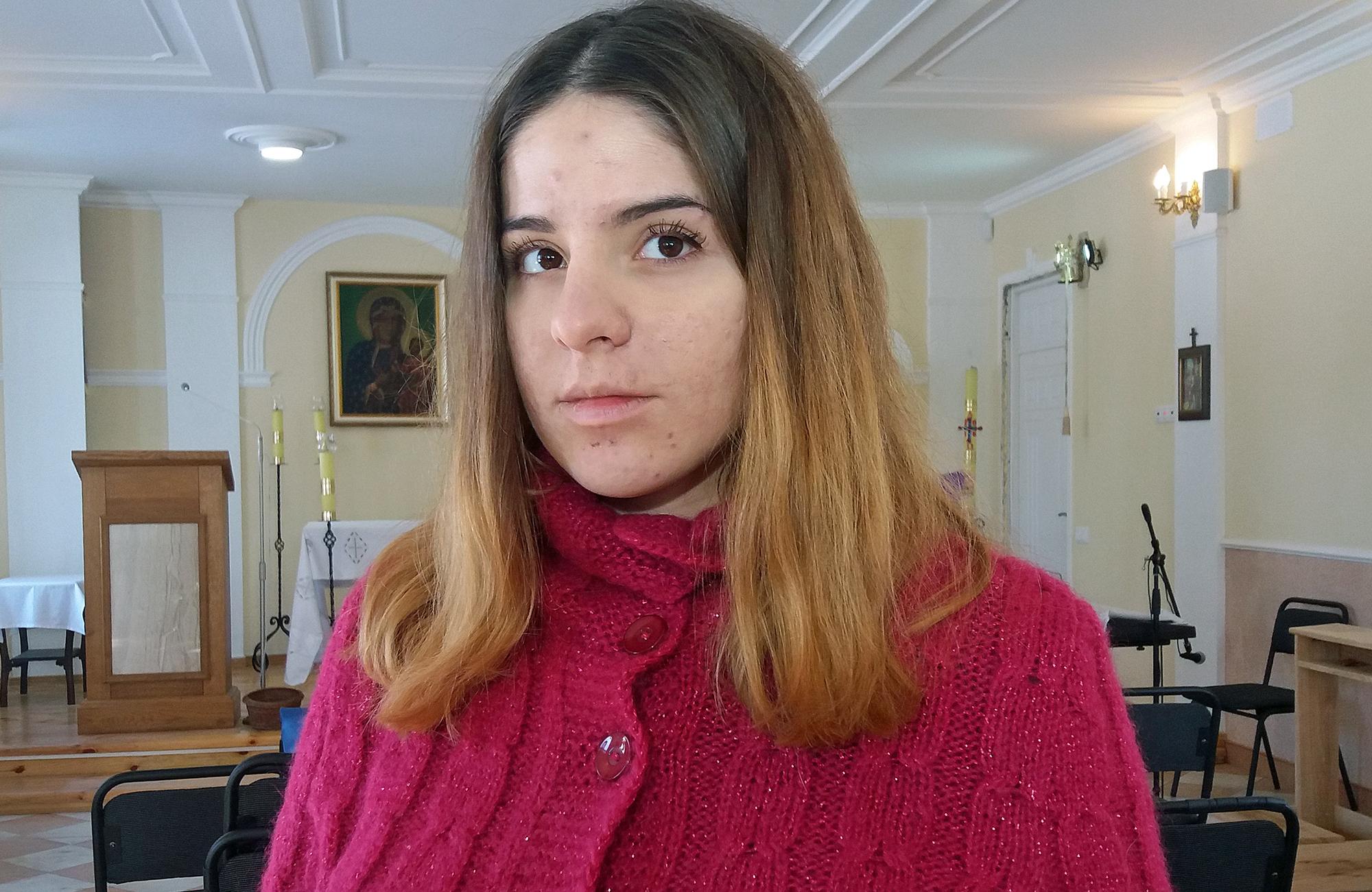 Sofia, lwowianka w Mariupolu/fot. Marcin Ogdowski