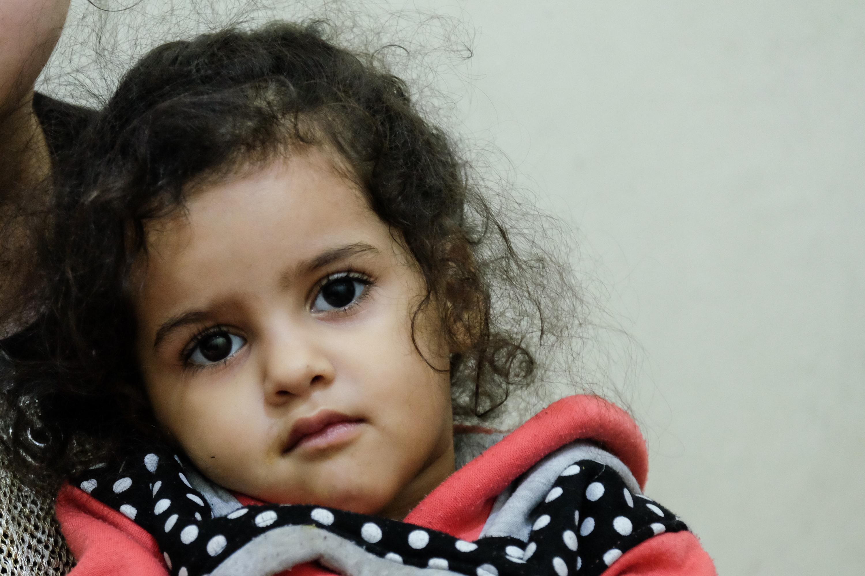 Najmłodsze dziecko Miriam w chrześcijańskie święta bożego narodzenia skończy dwa lata/fot. Paweł Krawczyk
