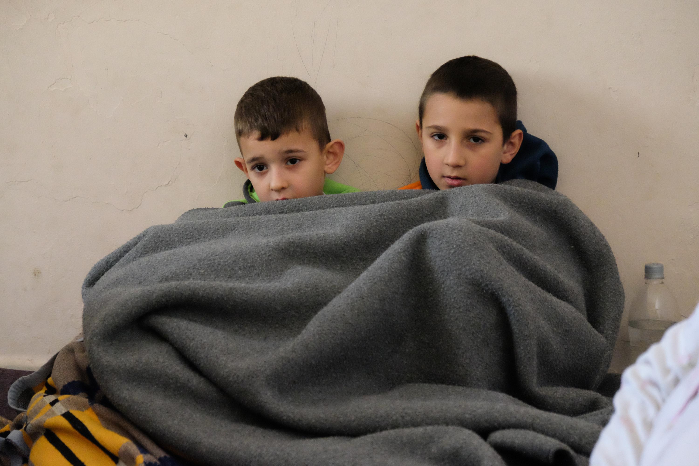 Imas i Mustafa, dzieci Hiby/fot. Paweł Krawczyk