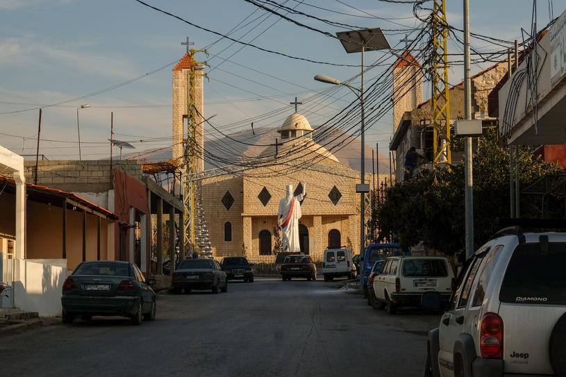 Figura świętego Eliasza i kościół pod jego wezwaniem. To tu rozegrał się dramat/fot. Paweł Krawczyk