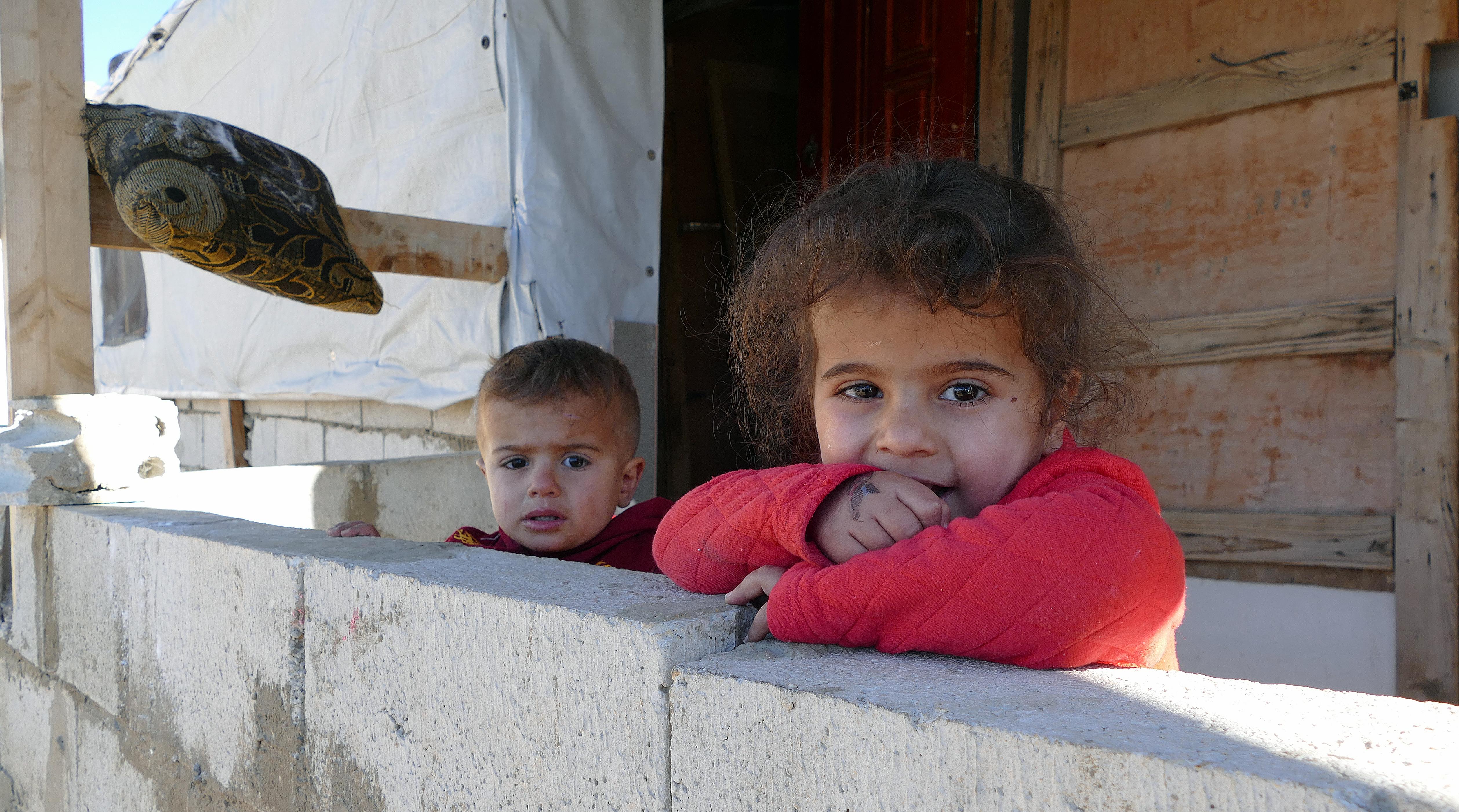 Te dzieci nie znają innej rzeczywistości niż obozowa/fot. Marcin Ogdowski